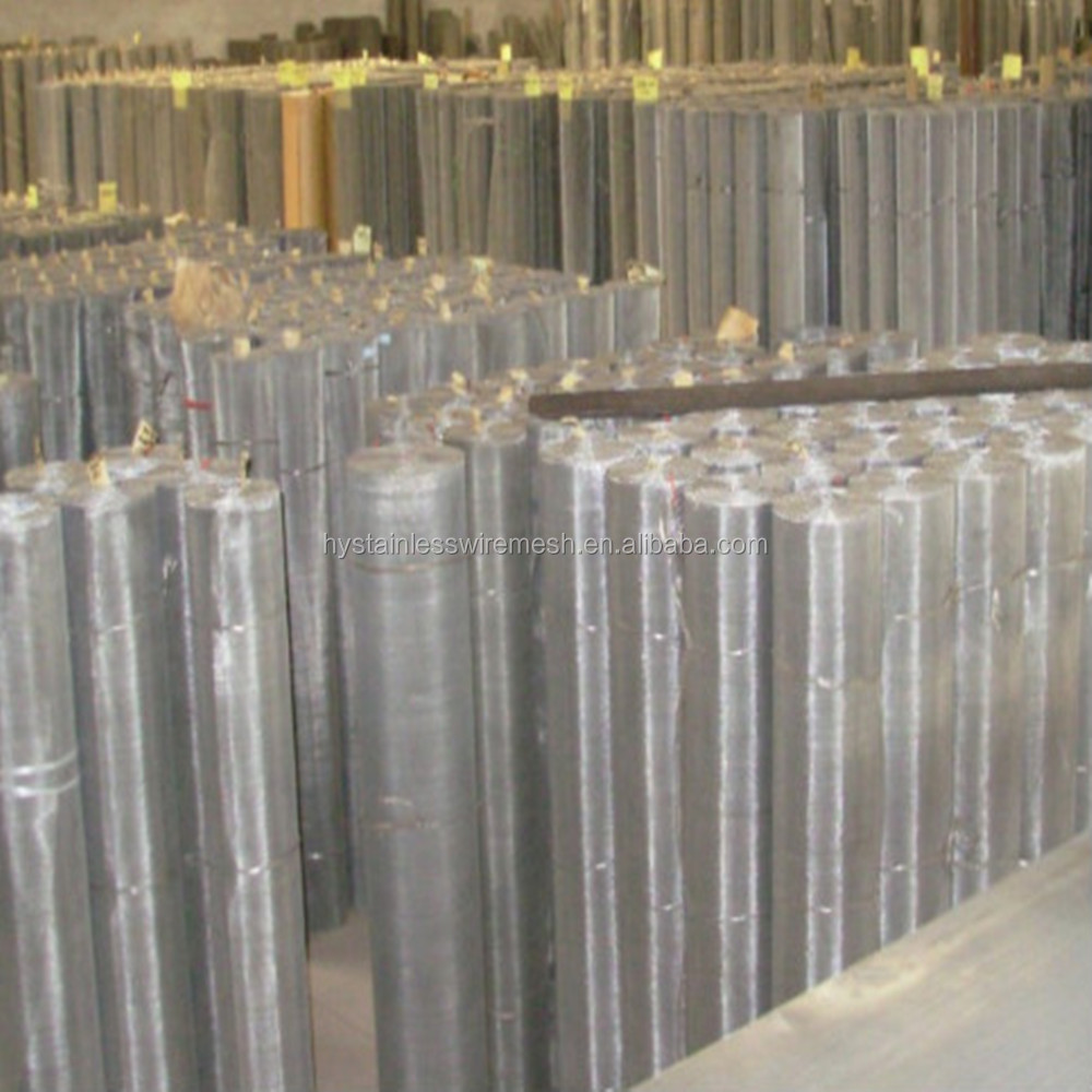 Manufacturer in china 304 316 stainless steel wire screen printing mesh