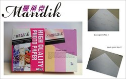 lucky silk photo paper rc high glossy photo paper with waterproof