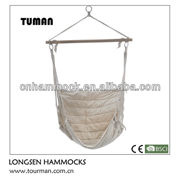 Hanging wood hammock chairs for bedrooms