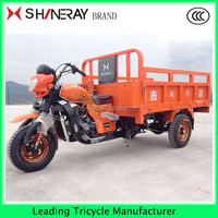 Shineray 200cc adult heavy loading cargo tricycle rickshaw price for sale used three wheel motorcycles
