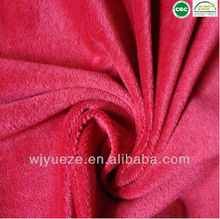 100% polyester soft velboa short plush fabric