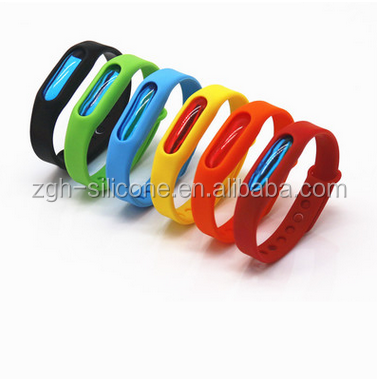 Eco-friendly Silicone Bracelet Baby Mosquito Repellent Bracelet