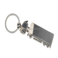 Truck shaped keychain wholesale blank metal keychains trade keychain