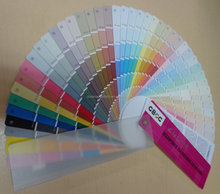 wall business color chart / color shade cards / color fandeck for wall paint