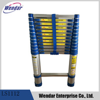 3 8m Aluminium Telescopic Step Ladder
