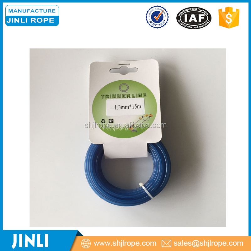 economic grade blue color round nylon string trimmer line