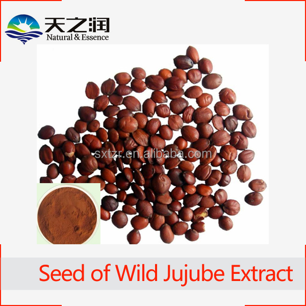 High Quality Wild Jujube Extract/Total Saponins 2%/Semen Ziziphi spinosae/Spine Date Seed P.E.
