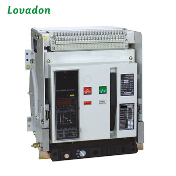 3P/4P 1250A Vacuum Circuit Breaker Fixed Intelligent Air Circuit Breaker