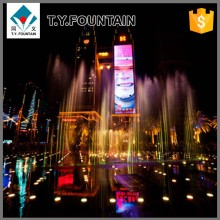 Street Landscape Outdoor Dancing Floor Water Fountain