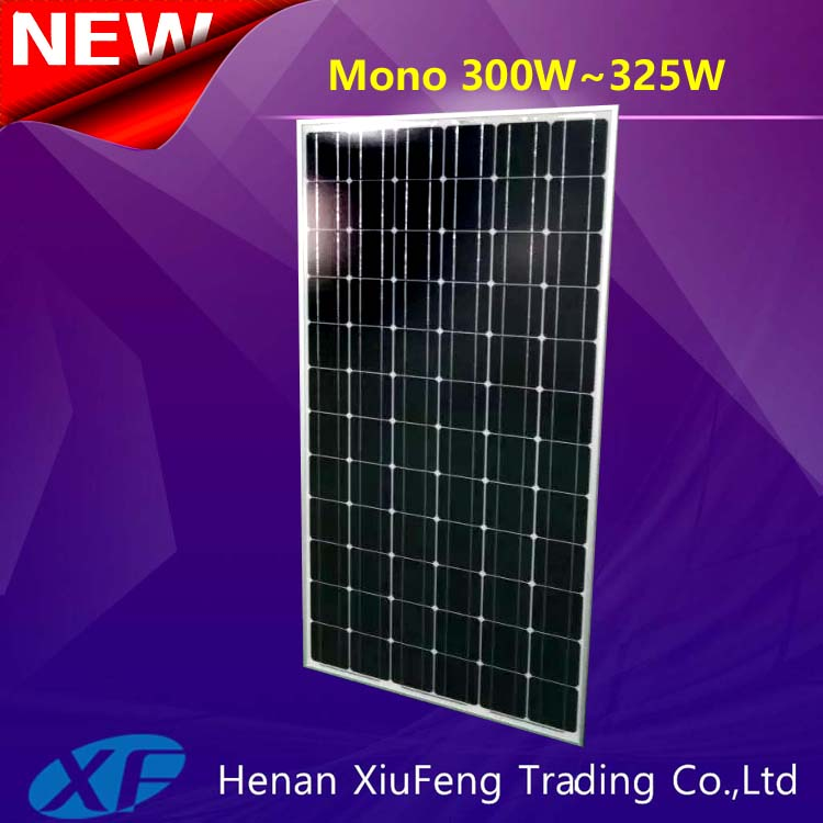 China manufacturer 300w best price per watt solar panels in india with TUV CE certification for Indonesia
