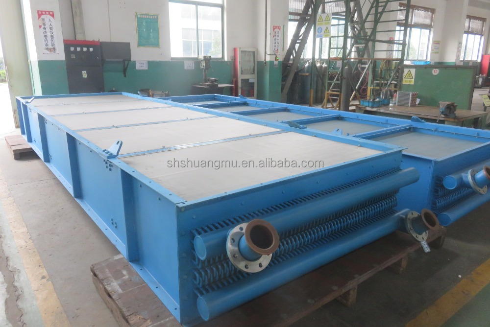 ASME copper tube aluminumfin air cooled condenser / air cooled heat exchanger SMLY-AC10012