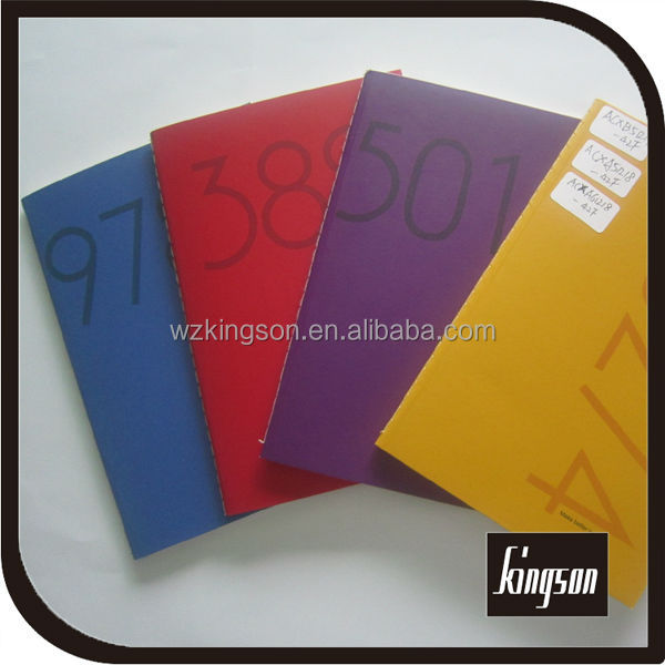 white card paper notebook