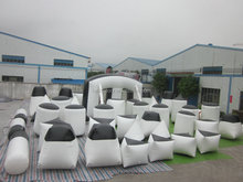 Professional Inflatable Paintball Manufacturer ,Inflatable Paintball Bunker for Shooting