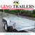 10x5 heavy duty fully weld tandem box trailer wth cage