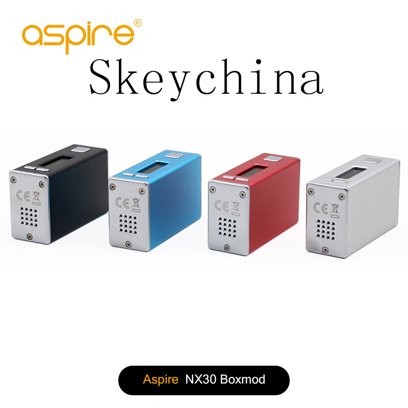 larger stock Genuine Aspire X30 Rover Kit and Aspire NX30w box mod fast shipping