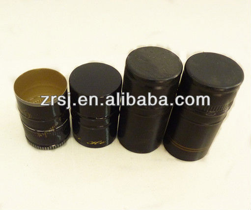 Metal bottle screw cap Aluminium cap for vodka glass bottles