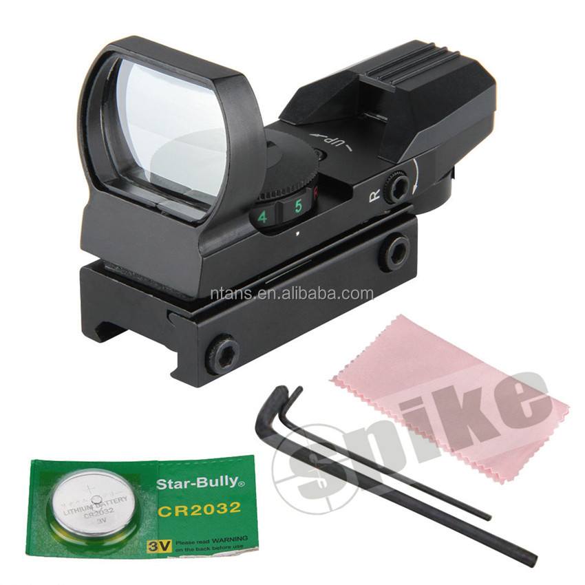 Spike Open Red Dot Sight /Red Dot Scope /Red Dot 4 Type Reticle Riflescope, Pistol