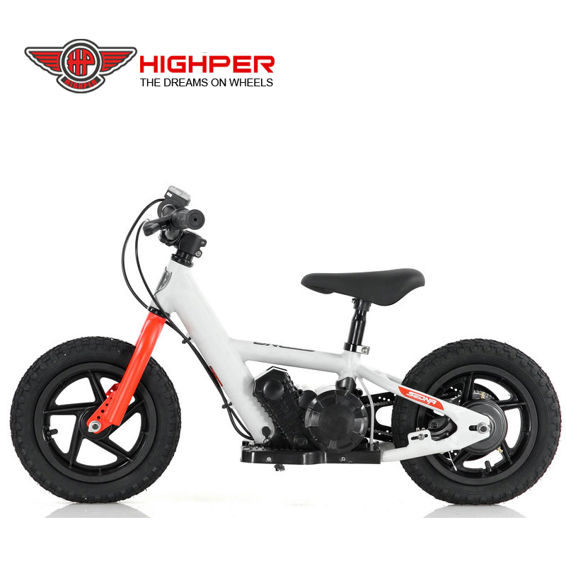 80W 24V kids no pedal bicycle aluminum frame electric balance motor <strong>bike</strong>