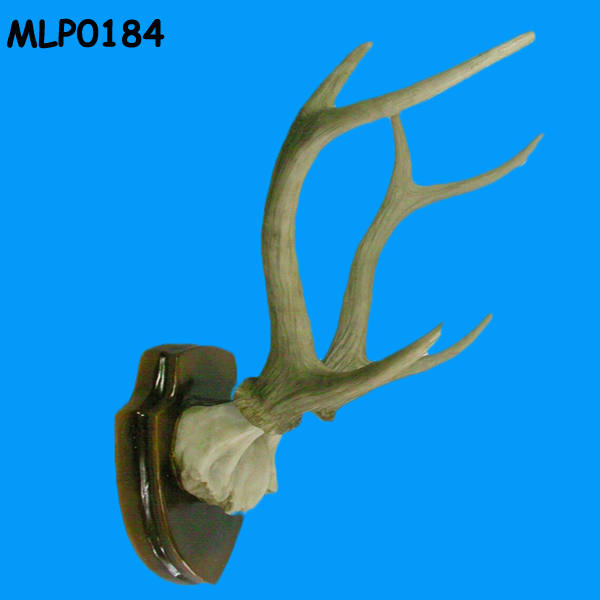 Animal Skull Horn Polyresin Small Artificial Deer Antlers For Sell