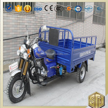 Single Cylinder Air Cooled 4 Stroke Three Wheel Cargo Tricycle Brand OEM Drum Disc Brake Starting System Electrical Kick