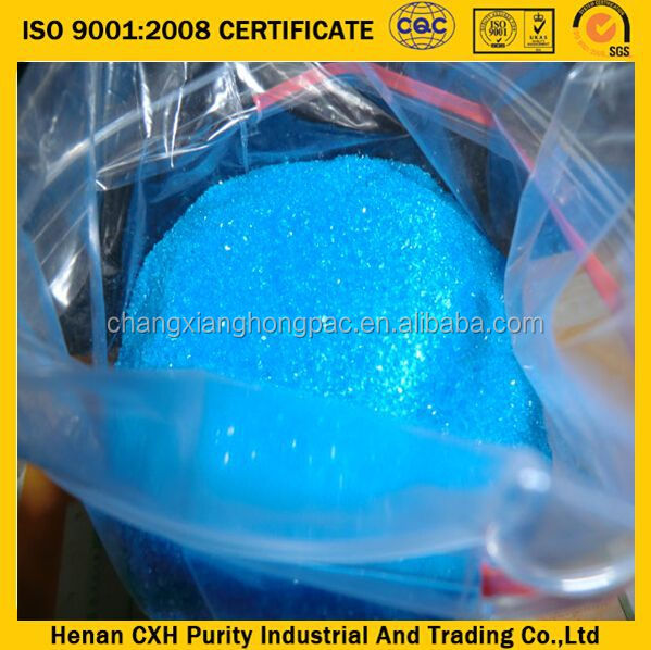 2015 Hot sale! copper sulphate manufacturing process ISO9001 manufacturer