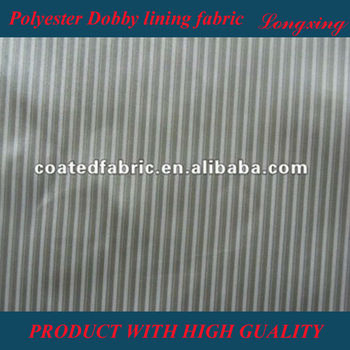 100% Polyester taffeta lining fabric for bag
