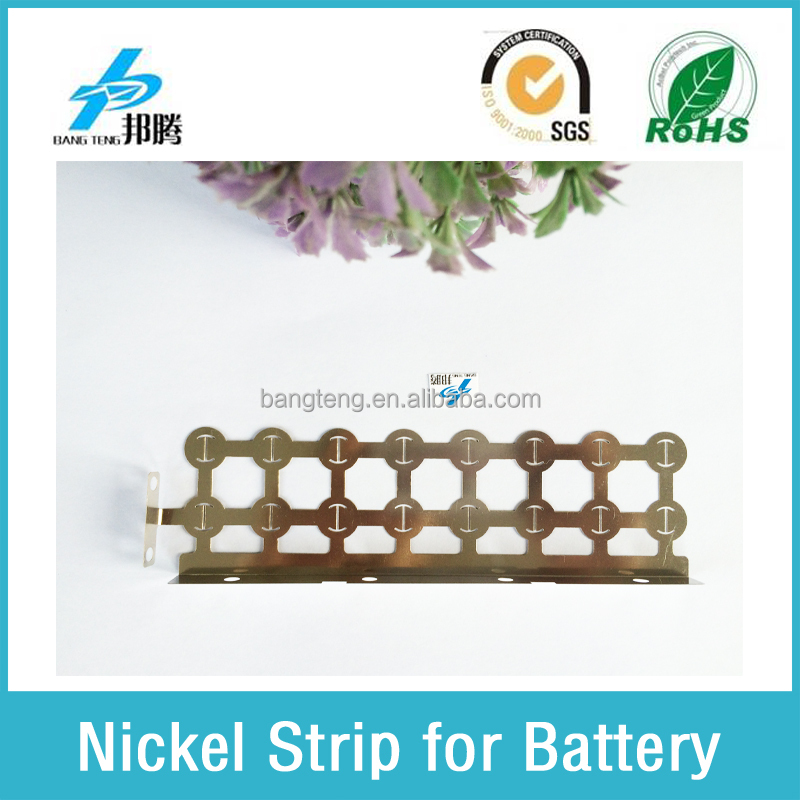 Pure Nickel Busbar Bending Nickel Strip for Battery Power Battery Pack Busbar
