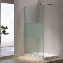 cheap interior frosted glass bathroom door GD001