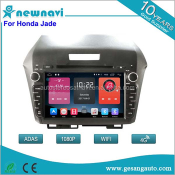 Newnavi android 6.0 car radio with dvd/gps support 4g/wifi for Honda Jade