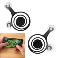 Hot sale mobile touch screen fling mini game joystick for android iphone and ipad mobile phone game controller