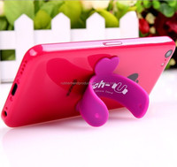 Custom Logo Silicone Mobile Phone Holder , Cheap Price Silicone Mobile Phone Holder For Sale