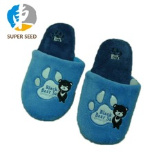 2018 Warm and soft custom made Slipper Men Indoor Slippers