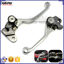 BJ-LS-007 Aftermarket CNC Pivot Adjustable Motorcycle Brake and Clutch Lever for KTM 400EXC