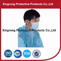 Medical Breathing Nonwoven Disposable Face Mask