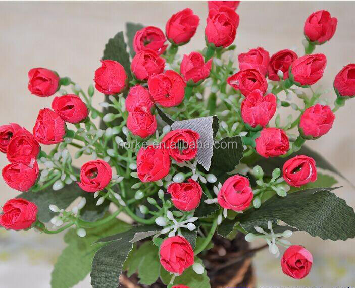Fake flower for home decoration of cheap wholesale