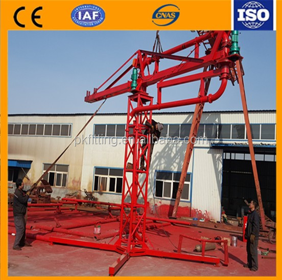 Concrete Pump Parts Placing Boom Prices 18m Large Placing Boom New Type Round Tube Placing Boom