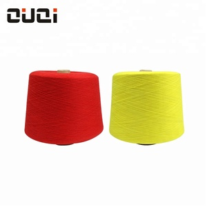 Price cheap wholesale high quality custom color 21s milk cotton yarn