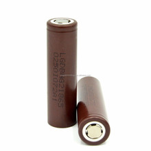 In stock ! High drain battery cell LG HG2 3000mAh 3.7V 20A high drain rechargeable li ion battery LG 18650HG2 use for E-cig