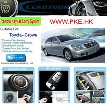 Engine Start/Stop Button Passive Keyless Entry PKE Remote Start System for Toyota Crown
