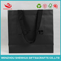 Wholesale Custom Recyclable Prmotional Take Away Flat Handle Kraft Paper Bag