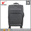China supplier soft 4 wheels suitcase cabin spinner suitcase trolley luggage