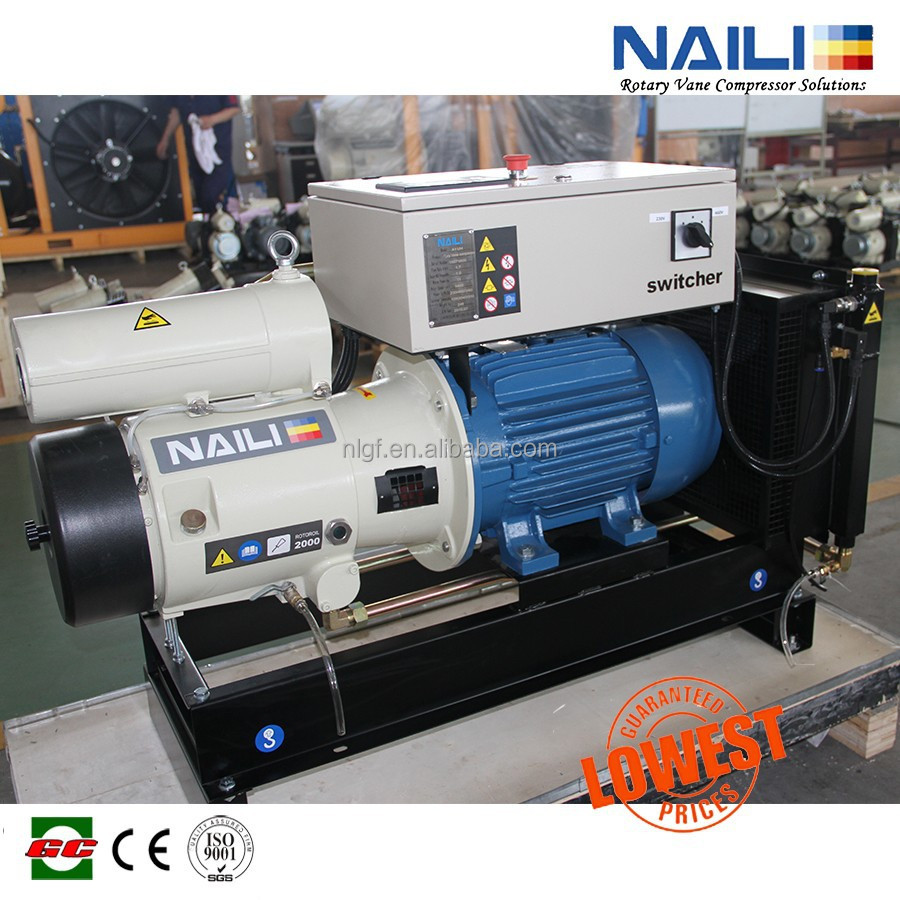 manufacturer of the most competitive quality Vane compressor in the world NAILI air compressor with WEG motor