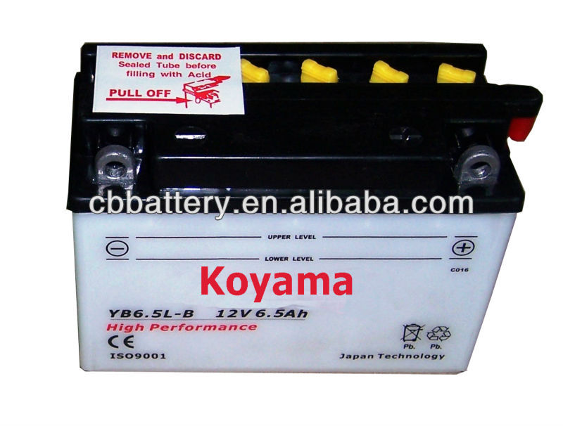 best price for China superior quality CBB motorcycle battery