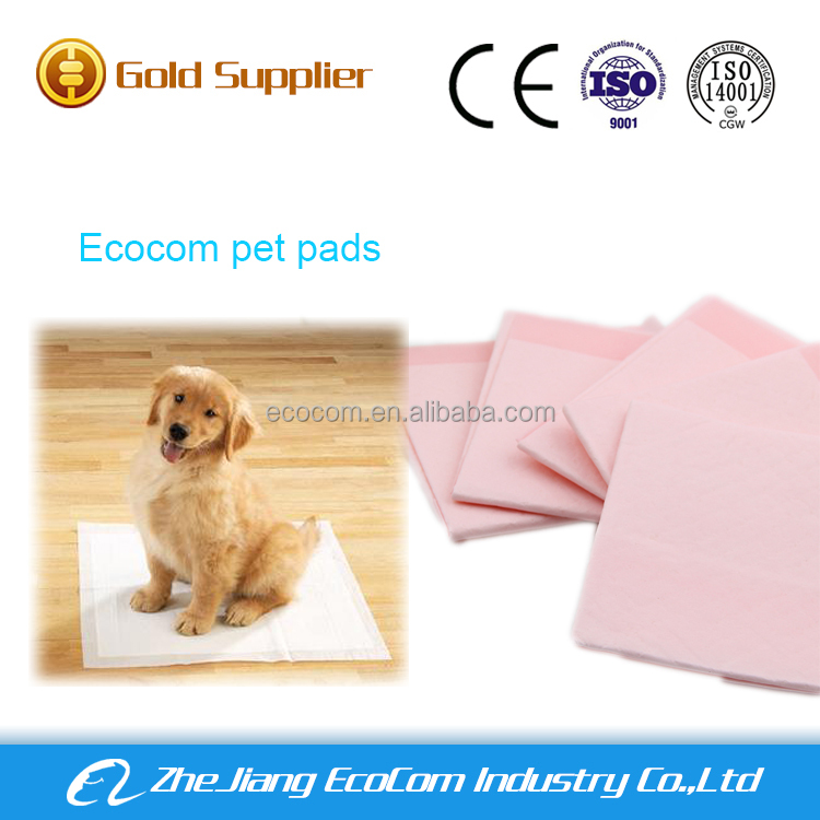 Waterproof PE film disposable puppy training pads pet pads dog sanitary pads