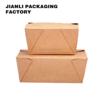 ECFRIENDLY CUSTOM takeaway food grade boxes