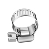 Hose Clamp Stainless Steel Clamps Worm-Gear Hose Clamp