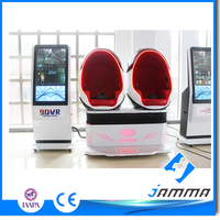 2017 TOP Selling!!! CHINA MANUFACTURE 9dvr double Seats Egg cinema Simulator 9d Virtual Reality