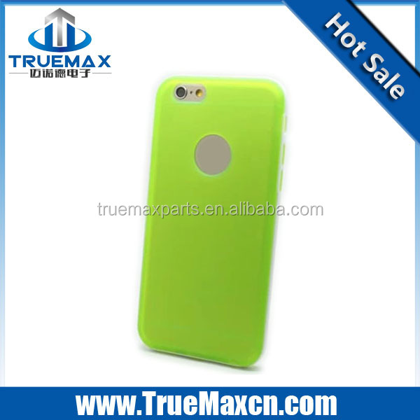 High Quality Cheap Rubber Matte Hard Case Cover for iPhone 6