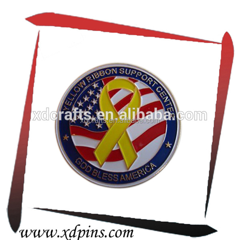 Hot sale Factory custom design two side metal gold silver Sunvenir coin with custom logo stamping