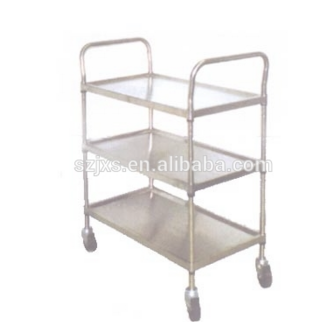 manufacture DIY industry storage organization Wire trolley Wire Shelving Trolley with Silence Wheels